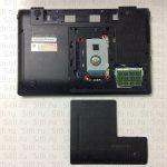 Чистка от пыли ноутбука samsung np300esc с полным разбором ноутбука