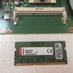 Увеличение оперативной памяти ноутбука ASUS X301A-RX077R