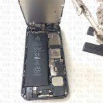 разбор и замена аккумуляторной батареи айфон 5 фото